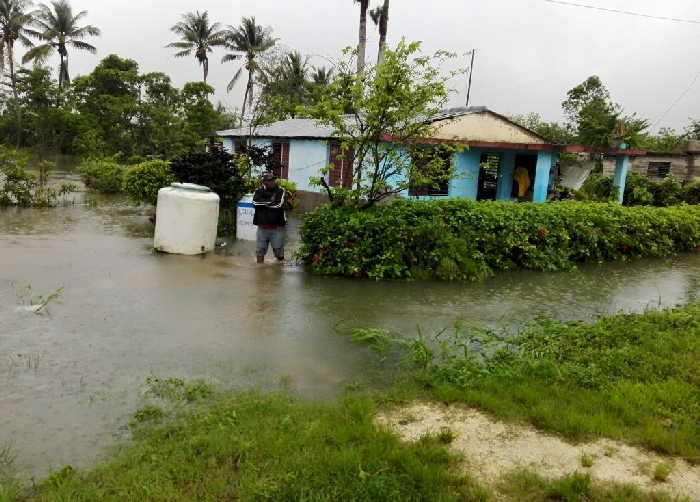 sancti spiritus, lluvias, comunidades, desbordamiento de rios