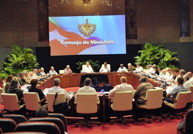 cuba, consejo de ministros, economia cubana