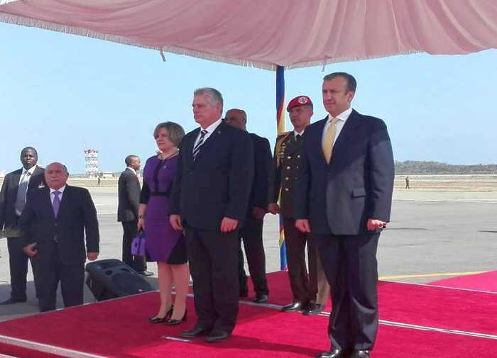 cuba, venezuela, miguel díaz-canel, presidente cubano, nicolas maduro