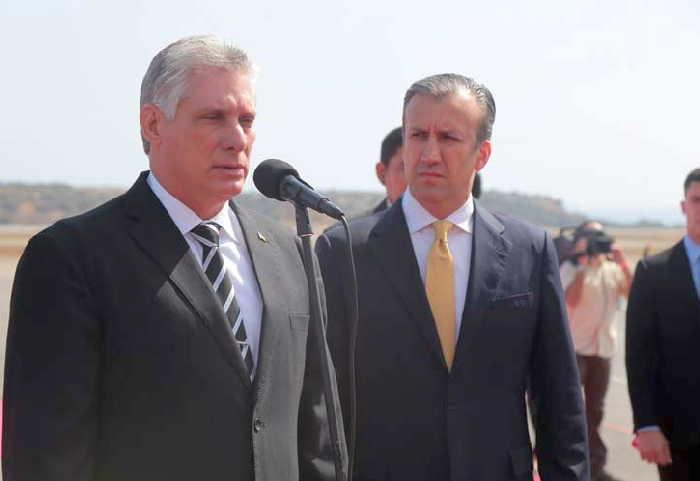 cuba, venezuela, miguel diaz-canel, nicolas maduro, presidente cubano
