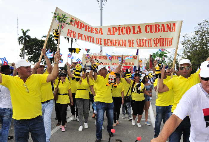 sancti spiritus, primero de mayo en sancti spiritus, dia del proletariado mundial, ctc