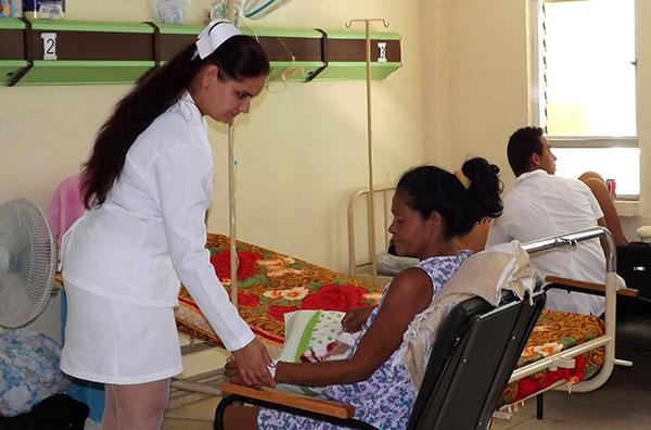 enfermería, Sancti Spíritus