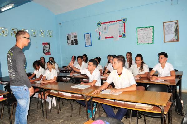 escuela pedagogica, sancti spiritus, educacion