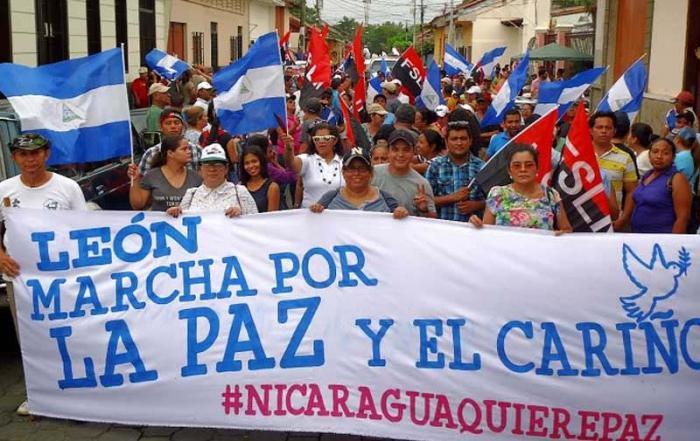 Nicaragua, protestas, paz