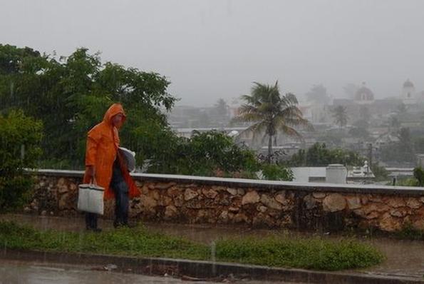 cuba, instituto de meteorologia, lluvias