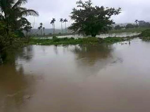 sancti spiritus, lluvia, río Yayabo, inundaciones, meteorología, recursos hidráulicos