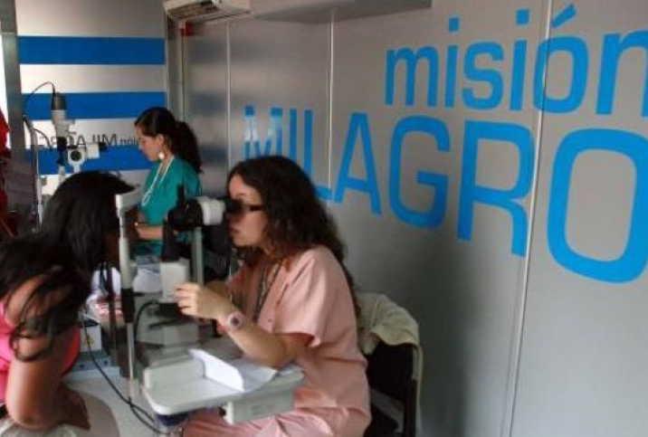 cuba, oftalmologia, mision milagro