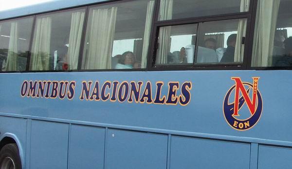 Óminibus Nacionales, transportación, pasajeros, Cuba