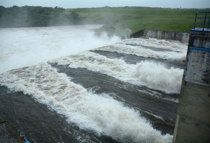 sancti spiritus, presa zaza, lluvias intensas, recursos hidraulicos