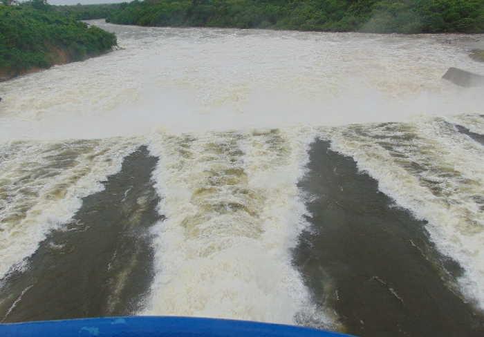 sancti spiritus, presa zaza, intensas lluvias, recursos hidraulicos