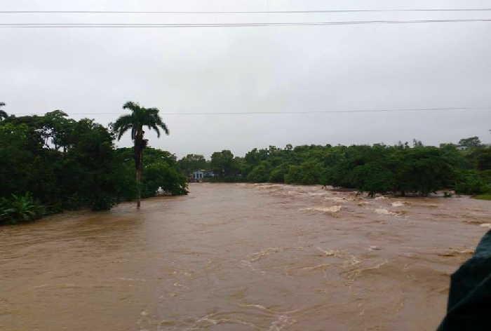 sancti spiritusn lluvias, rios crecidos, muertes, trinidad