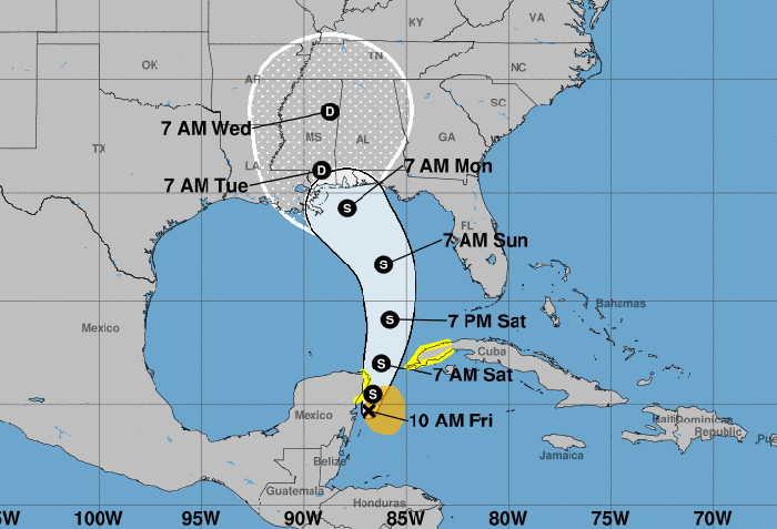 cuba, meteorologia, tormenta tropical, instituto de meteorologia