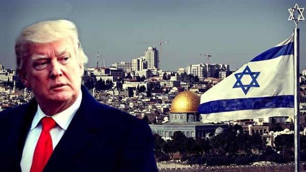 EE.UU., Israel, embajada. Donald Trump