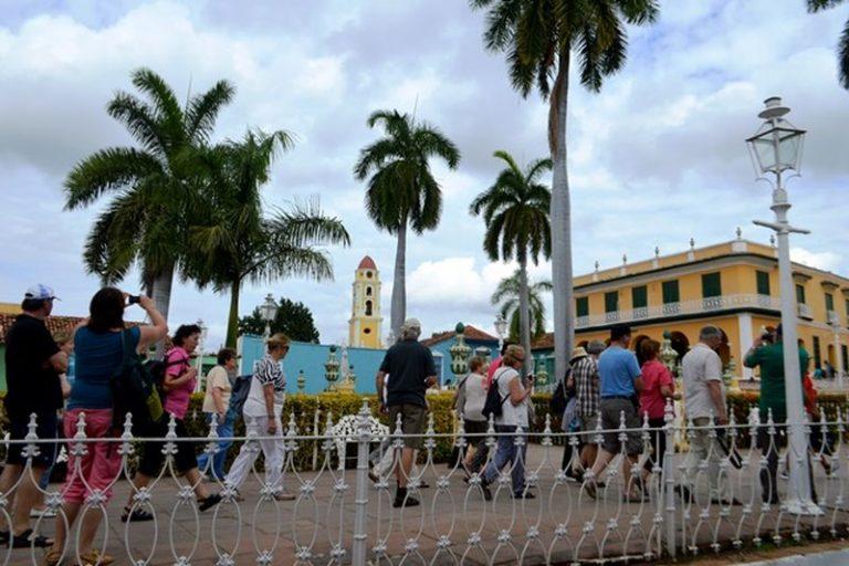 Trinidad centro del turismo interesados en el Patrimonio