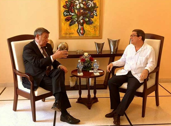 Cuba, Uruguay, cancilleres, Bruno Rodríguez