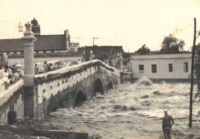 sancti spiritus, rio yayabo, puente yayabo, intensas lluvias en sancti spiritus