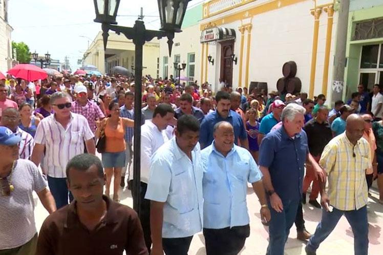 Díaz-Canel, Bayamo, Granma