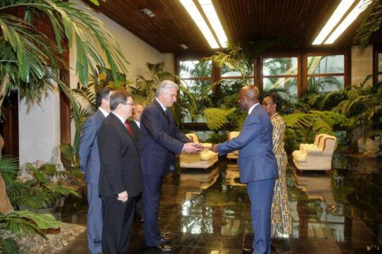 Díaz-Canel, MINREX, Cuba, embajadores