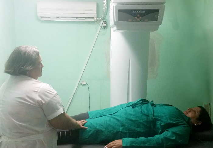 sancti spiritus, hospital provincial camilo cienfuegos, imagenologia, densitometro oseo