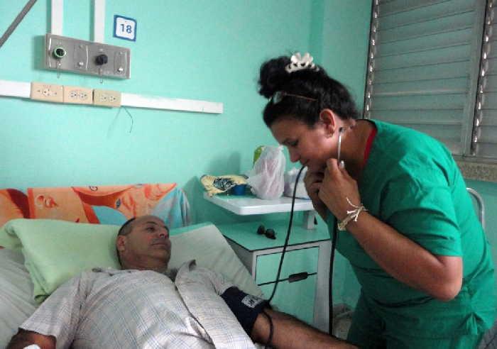 sancti spiritus, cardiologia, hospital provincial camilo cienfuegos