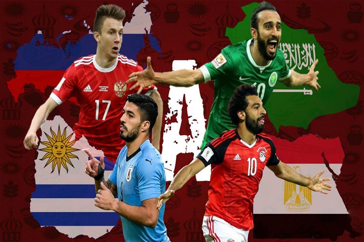 Fútbol, Rusia, Uruguay