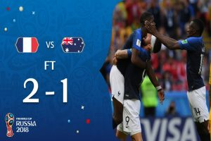 Futbol, Rusia, Francia, Australia