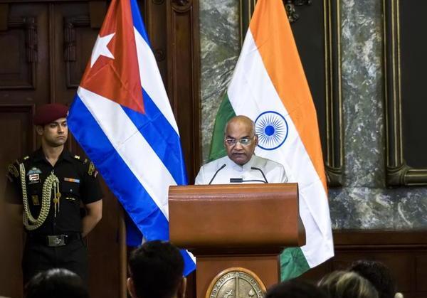 cuba, india, presidente de la india