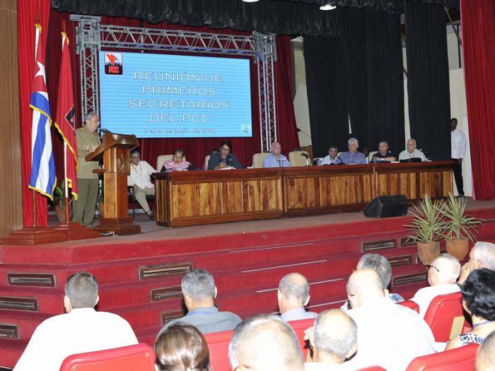 Raúl Castro, Partido Comunista, Cuba