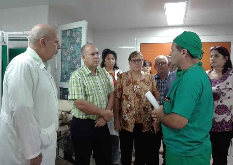 Salud, Sancti Spíritus, ministro, Roberto Morales