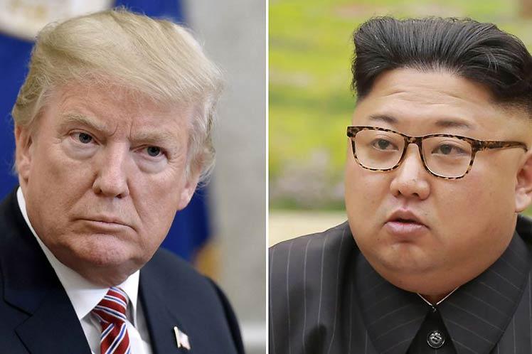 Donald Trump, Corea del Norte, EE.UU.