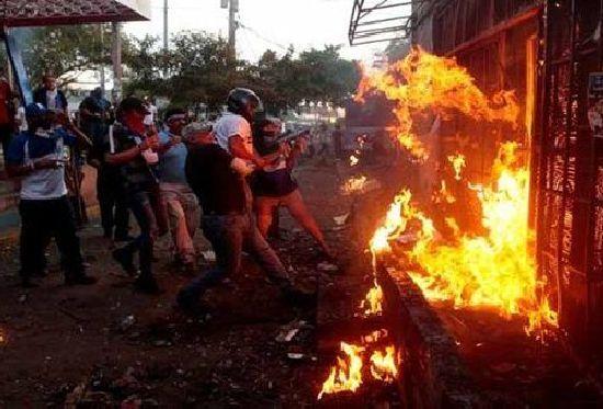 nicaragua, violencia, muertes