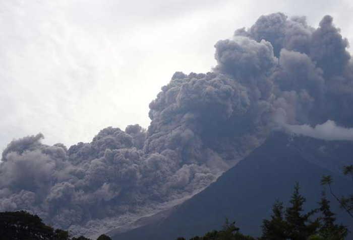 guatemala, volcan