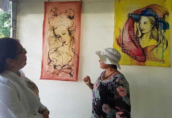 sancti spiritus, tudith vidal, trinidad, artes plasticas