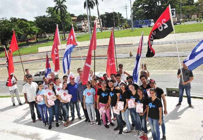 sancti spiritus, congreso de la feu, estudiantes, universidad, federacion estudiantil universitaria