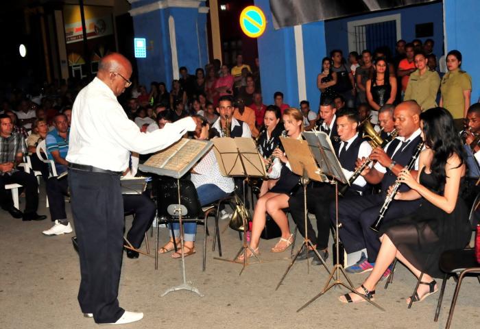 sancti spiritus, banda provincial de mucica, musica,