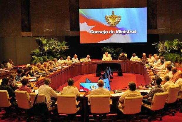 cuba, consejo de ministros, economia cubana, miguel diaz-canel