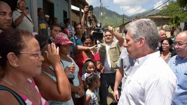 santiago de cuba, miguel diaz-canel, presidente de cuba, partido comunista de cuba, pcc