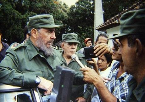 Fidel Castro, Rafael Daniel, Sancti Spíritus