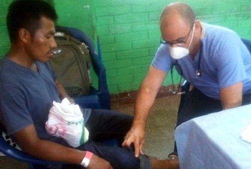 cuba, guatemala, medicos cubanos, volcan de fuego