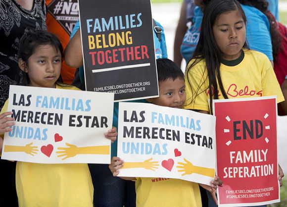 estados unidos, niños migrantes, politica migratoria, donald trump