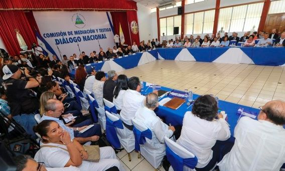 Nicaragua, diálogo