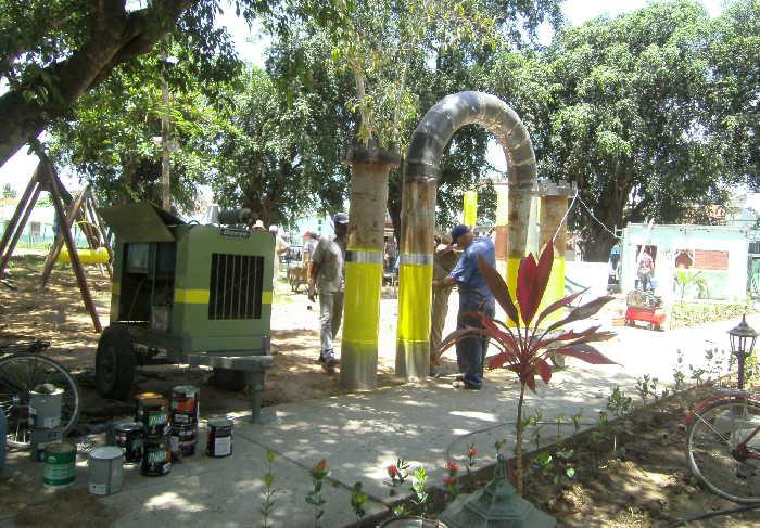 sancti spiritus, los caballitos, servicios comunales