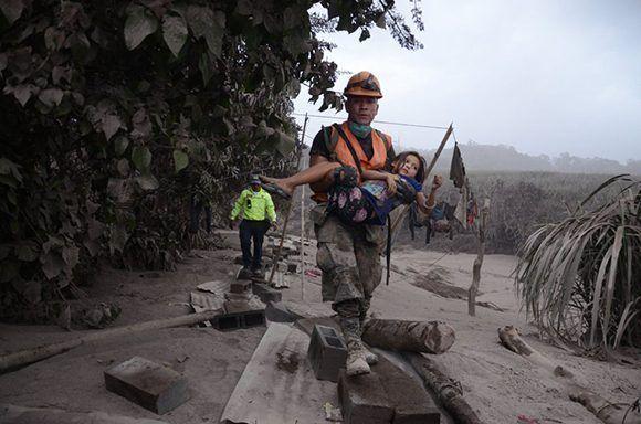 guatemala, volcan, muertes, desastres naturales