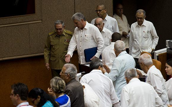 Parlamento cubano, Raúl Castro, Díaz-Canel, constitución
