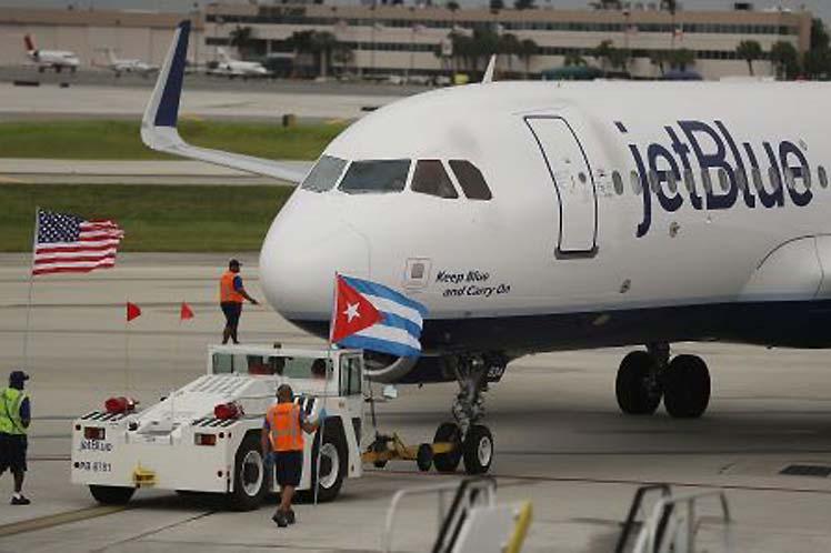 Aviación, Cuba, EE.UU.