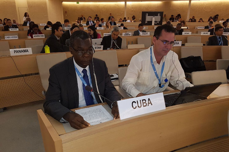 Cuba, ONU, Palestina