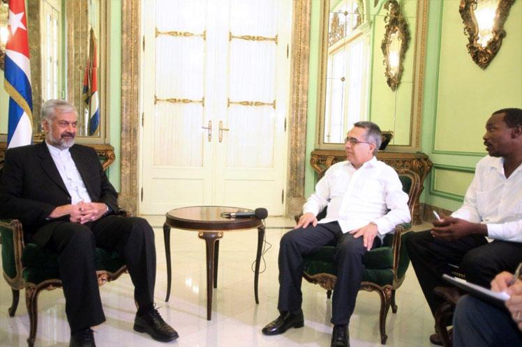 Cuba, Siria, colaboración