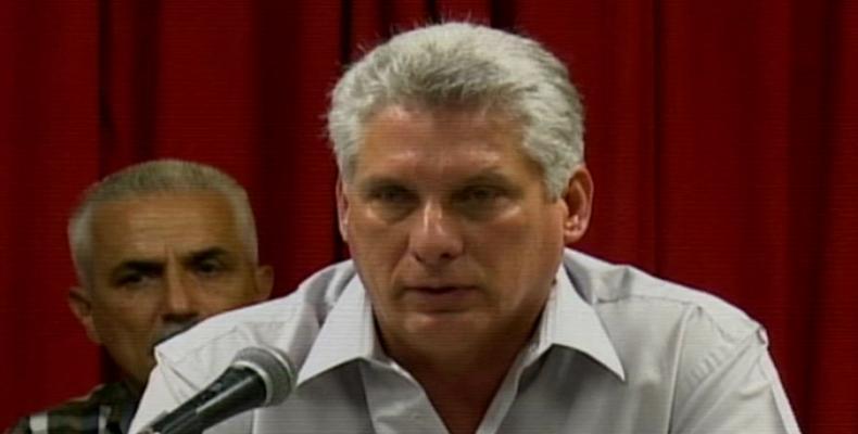 Cuba, informatización, Díaz-Canel