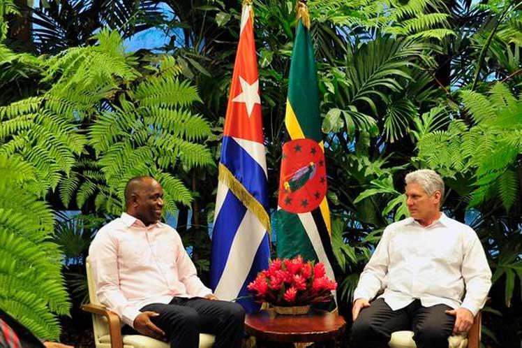 Díaz-Canel, Dominica