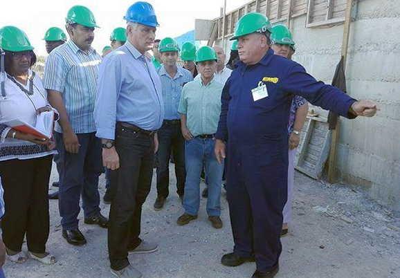 cuba, presidente de cuba, miguel diaz-canel, matanzas